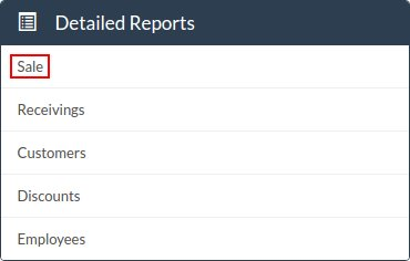 Detailed Reports